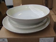 | 1 x | SWOON HELENA 12PC DINNER SET WHITE | BOXED | SKU - | RRP £ 120 |