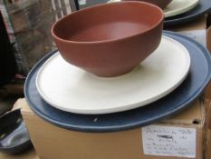 | 1 x | SWOON AMALIA 12PC DINNER SET IN CLAY | BOXED | SKU - | RRP £120 |