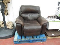 Polaski Manual Reclining armchair, mechanism is working.