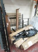 Parts to Approx 6 Bentley Designs Crystal bed frames, all with damage or missing parts, includes