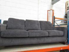 Costco 3 seater fabric sofa. No major damage