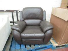 La-Z-Boy manual reclining armchair, chair does not recline