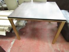 | 1x | SWOON AVEEN DINIGN TABLE IN WALNUT, NEEDS TIGHTENING UP | NO BOX | SKU - | RRP £499 |