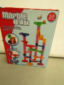 3x Marble Run 50 piece set, new and boxed.