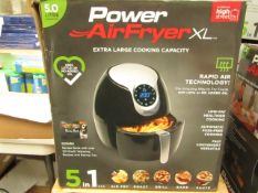 | 1X | POWER AIR FRYER XL 5L | UNCHECKED AND BOXED | NO ONLINE RE-SALE | SKU C5060191465366 | RRP £