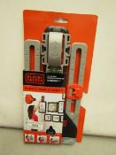 Black & Decker All in One Picture Hanging Kit.New & packaged