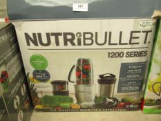 | 1x | NUTRIBULLET 1200 SERIES | UNCHECKED AND BOXED | NO ONLINE RE-SALE | SKU C5060191464758 | RRP