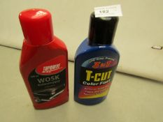 2 Items Being a T-Cut Color Fast & a Top Drive Color Polish. Both unused