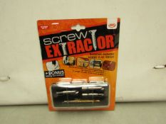 JML Screw Extractor. Removes Awkward Screws in an Instant. New & packaged
