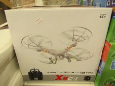 X5C-1 4 channel remote control quadcopter, new and boxed.