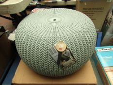 Keter Knit Collection Cozy Seat. New & Boxed. RRP £34.99