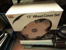 "Auto Care 13"" Wheel cover Set. New & Boxed"