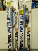 | 2X | XHOSE POWERFUL WATER JET | UNTESTED AND BOXED | NO ONLINE RE-SALE | SKU - | RRP £29.99 |