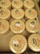 6x 15g Beautiful Bronze matte browning powder, new and packaged.