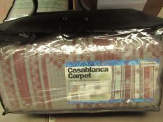 Casablanca Carpet Eco Friendly Groundsheet. 2.5m x 7m. RRP £49.99 on ebay New & In a Carry Bag