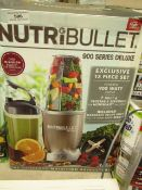 | 1x | NUTRIBULLET 900 SERIES DELUXE | UNCHECKED AND BOXED | NO ONLINE RE-SALE | SKU