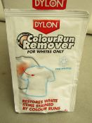 24x 25g Dylon colour run remover for whites, new and boxed.
