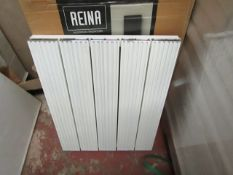 REINA ENZO - Aluminium wall Radiator, White - 470x600mm