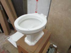 Lecico - Hamilton White Toilet - New and Boxed.