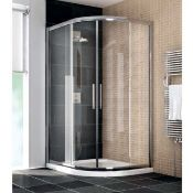 Manhatton offset Right hand Shower enclosure 1200 x 900, new in 2 boxes.