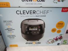 | 1x | DREW & COLE CLEVERCHEF | PAT TESTED AND BOXED | NO ONLINE RE-SALE | SKU C5060541511682 |