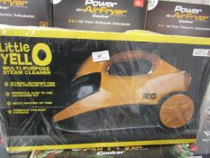 | 1X | LITTLE YELLO MULTI-PURPOSE STEAM CLEANER | UNCHECKED AND BOXED | NO ONLINE RE-SALE | SKU