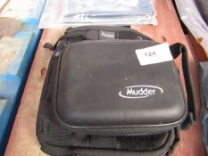 2x Various items being : - Mudder - Small storage case (black) & ProCase - Portable Camera Case (