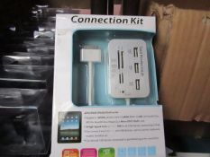 3x Connection Kit's - All good Condition - Boxed.