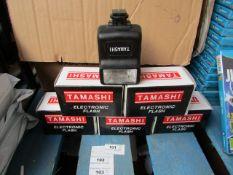 5x TAMASKI - Electronic Flash - All Boxed.