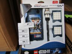 1 Box of 4 - StarWars - Nintendo DS Armor Case Kit - All new and Packaged and Boxed.