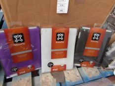 5x Ultra-thin case for Ipad 2 - All new and packaged.