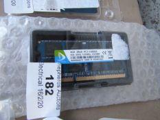 DUOMEIGI - 4GB 2RX8 PC3-10600S - Untested.