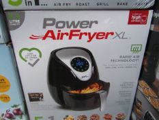 | 1x | POWER AIR FRYER XL 3.2L | PAT TESTED AND BOXED | NO ONLINE RE-SALE | SKU C5060191465366 | RRP