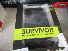 SURVIVOR - Iphone 4/S Military duty case - Boxed.
