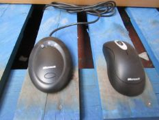 10x Microsoft - Wireless Optical Mouse 2000, packaged.