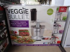 | 1X | VEGGIE BULLET | PAT TESTED AND BOXED | NO ONLINE RE-SALE | SKU C5060191466851 | RRP £129.99 |