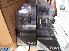 BlueXtel - Play - Bluetooth Stereo Earbuds - All New and Packaged.