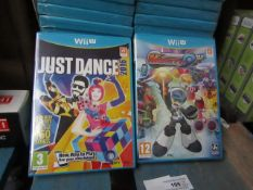 2x Wii Game's : - One Being Just Dance 2016 & Mighty 9 - All Brand new in Packaging.