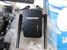 COMFAST - Dual band Repeater - Untested and boxed.