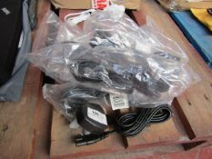 8x Figure of Eight Cable Leads - All Packaged.