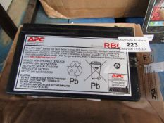 APC - Battery - Untested and boxed.