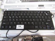 Mini keyboard USB - Untested and boxed.