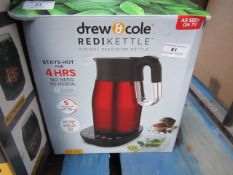 | 1x | DREW & COLE REDI KETTLE 1.7L | PAT TESTED AND BOXED | NO ONLINE RE-SALE | SKU