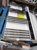 Carisa Gradient Chrome 500x1000 radiator, with box, RRP £406, please read lot 0.