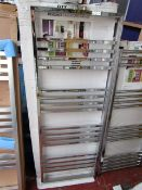 Francis Chrome 500x1350 radiator, with box, please read lot 0.
