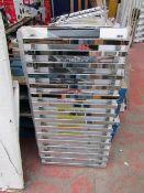 Carisa Zara Chrome 1020x550 radiator, with box, RRP £259, please read lot 0.