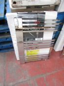Carisa Gradient Chrome 500x700 radiator, with box, RRP £285, please read lot 0.
