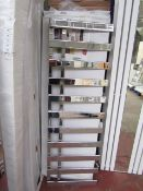 Florance Chrome 500x1525 radiator, with box, please read lot 0.