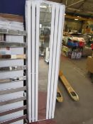 Reform White 445x1800 radiator, with box, please read lot 0.