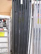 Carisa Barcode anthracite 470x1800 radiator, with box, RRP £415, please read lot 0.